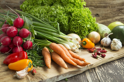 Bio Vegetables Freshly Picked, Healthy Vegetables Assortment